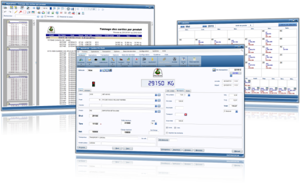 Industrial weighing software solution